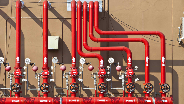 Fire Fighting System Network