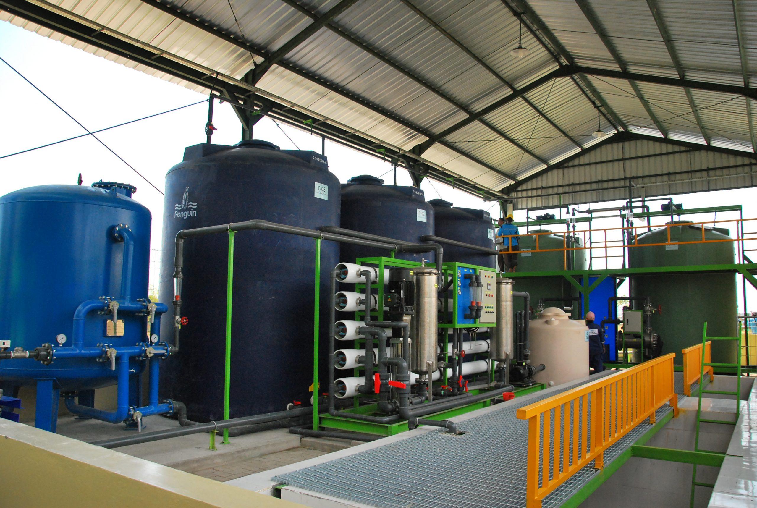 EPC 3000m3 Water Treatment Skids